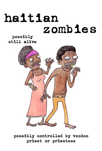 haitian zombies