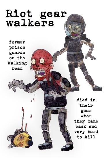 riot gear walkers