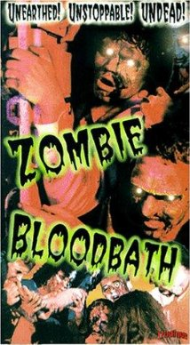 zombie blood bath