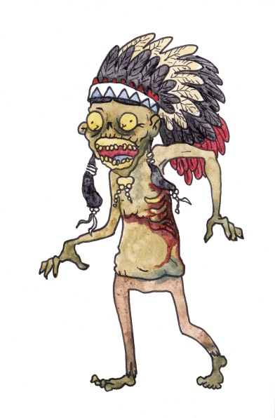 Zombie Native American
