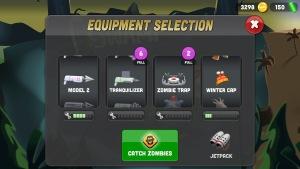 zombie catchers weapons