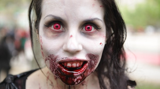 zombie walk chile
