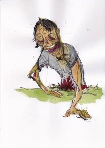 Zombie split arm